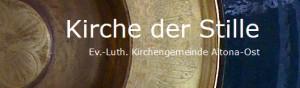 Anmeldung via Website Kirche der Stille