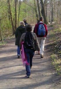 Pilgerwanderrung an der Alster