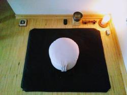 Der Meditationsplatz